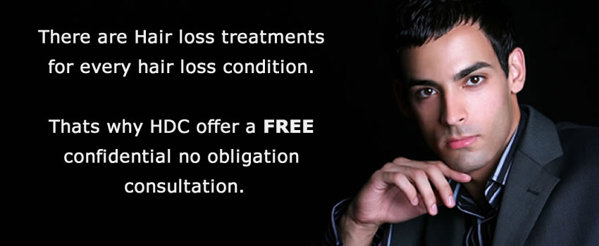 Book a Free Hair Consultation now