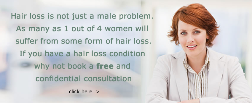 Hair loss is not just a male problem